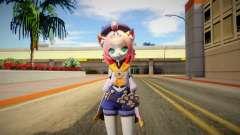 Diona From Genshin Impact для GTA San Andreas