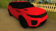 Land Rover Range Rover Evoque для GTA Vice City