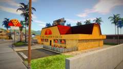Новая текстура пиццерии в Иделвуде для GTA San Andreas