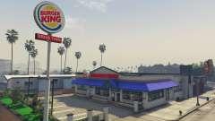 Burger King для GTA 5