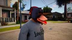Rutger Mask For Cj для GTA San Andreas