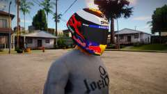 SHARK RACE-R PRO [Jorge Lorenzo 2019 Edition] для GTA San Andreas