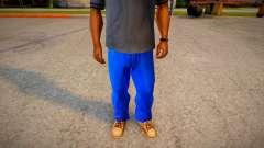 More Dark Blue Jeans For Cj And Grove Green Belt для GTA San Andreas