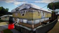 Winter CJ House для GTA San Andreas