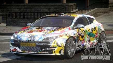 Renault Megane PSI-R PJ8 для GTA 4