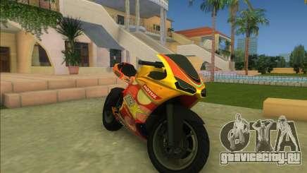 GTA V Bati (желто-оранжевый) для GTA Vice City