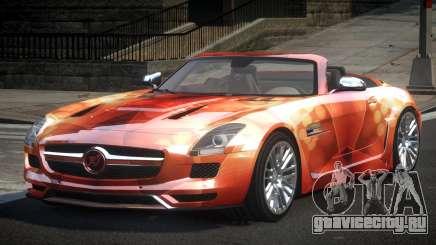 Mercedes-Benz SLS PSI-R L2 для GTA 4