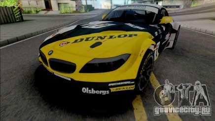 BMW Z4 GT3 Dunlop для GTA San Andreas