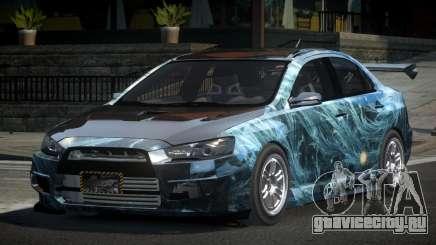 Mitsubishi Lancer X GST-R PJ2 для GTA 4