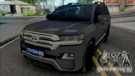 Toyota Land Cruiser V8 [IVF] для GTA San Andreas