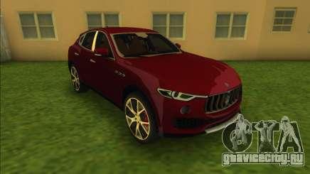 Maserati Levante S (Beta) для GTA Vice City