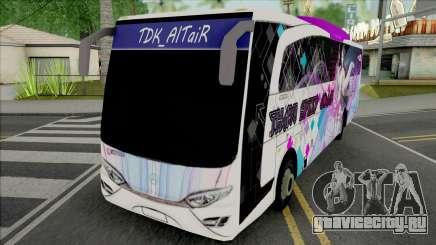 Mercedes-Benz Jet Bus Z Remake для GTA San Andreas