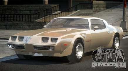 Pontiac TransAm 80S для GTA 4
