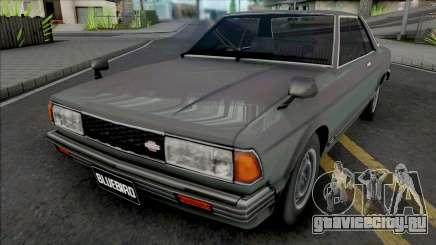Nissan Bluebird 910 SSS Hardtop Coupe для GTA San Andreas