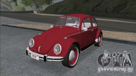 Volkswagen Beetle (Fusca) 1300 1971 - Brazil для GTA San Andreas