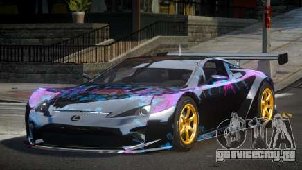 Lexus LFA PSI-R L4 для GTA 4