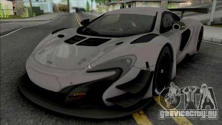 McLaren 650S GT3 (SA Lights) для GTA San Andreas