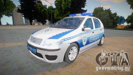 Fiat Punto Mk2 Classic Policija для GTA San Andreas