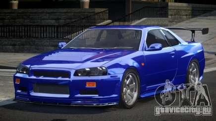 Nissan Skyline R34 BS U-Style для GTA 4