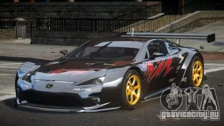 Lexus LFA PSI-R L7 для GTA 4