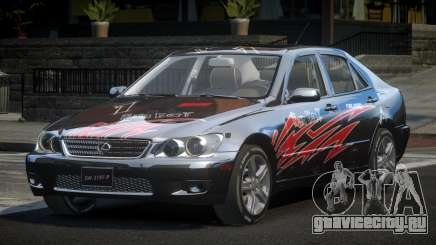 Lexus IS300 SP-R L9 для GTA 4