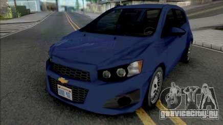 Chevrolet Sonic Hatchback 2014 Lowpoly для GTA San Andreas