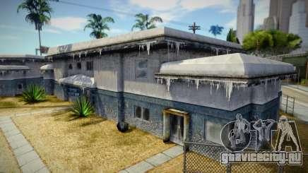Winter House для GTA San Andreas