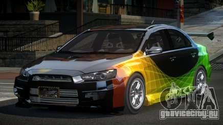 Mitsubishi Lancer X GST-R PJ1 для GTA 4
