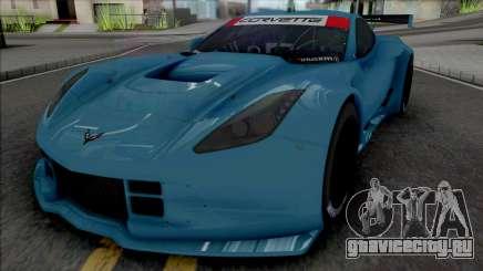 Chevrolet Corvette C7R GTE (SA Lights) для GTA San Andreas