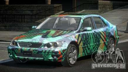 Lexus IS300 SP-R L4 для GTA 4