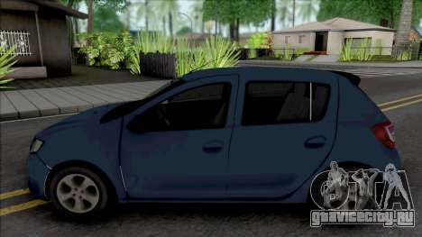 Dacia Sandero 2014 James May для GTA San Andreas