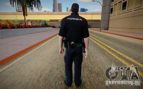 Policija Skin v2 для GTA San Andreas