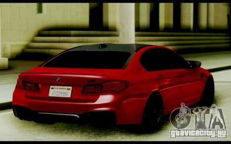 BMW M5 F90 Black Roof для GTA San Andreas