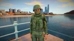 Special Forces soldier для GTA San Andreas