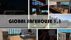 Global safehouses mod 1.1 для GTA San Andreas