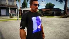 Travis Scott Black T-Shirt для GTA San Andreas