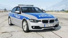 BMW 330i (F30) 2012〡Polish Police [ELS] add-on для GTA 5