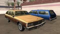 Oldsmobile Custom Cruiser 1980 Wooden body для GTA San Andreas