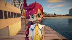Chloe from Pokemon Journeys для GTA San Andreas