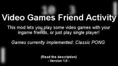 Video Games Friend Activity (VGFA) для GTA 4