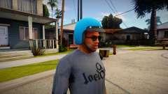 Байкерский шлем из GTA V для GTA San Andreas