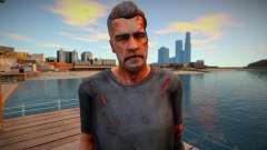 Terminator skin для GTA San Andreas
