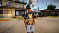 T-shirt with a lion для GTA San Andreas