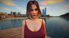 Tina Armstrong Casual v8 для GTA San Andreas