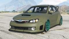 Subaru Impreza WRX STI Widebody (GRB) 2008〡add-on для GTA 5