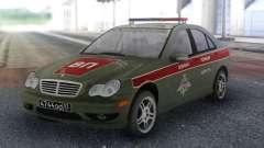 Mercedes-Benz C-class Военная Полиция для GTA San Andreas