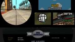 Interface Remastered Project v0.3 для GTA San Andreas