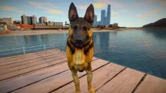 Riley the German shepherd dog from Call of Duty для GTA San Andreas