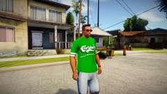 T-shirt Carlsberg для GTA San Andreas