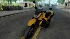 Yamaha XT660 Yellow для GTA San Andreas
